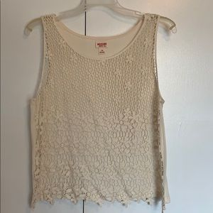 Cream tank from Mossimo Supply Co